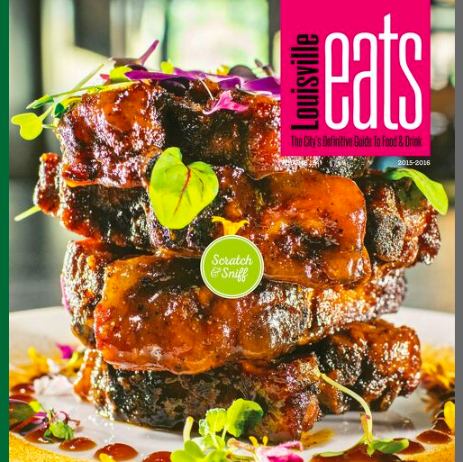 Cover of Louisville Eats magazine