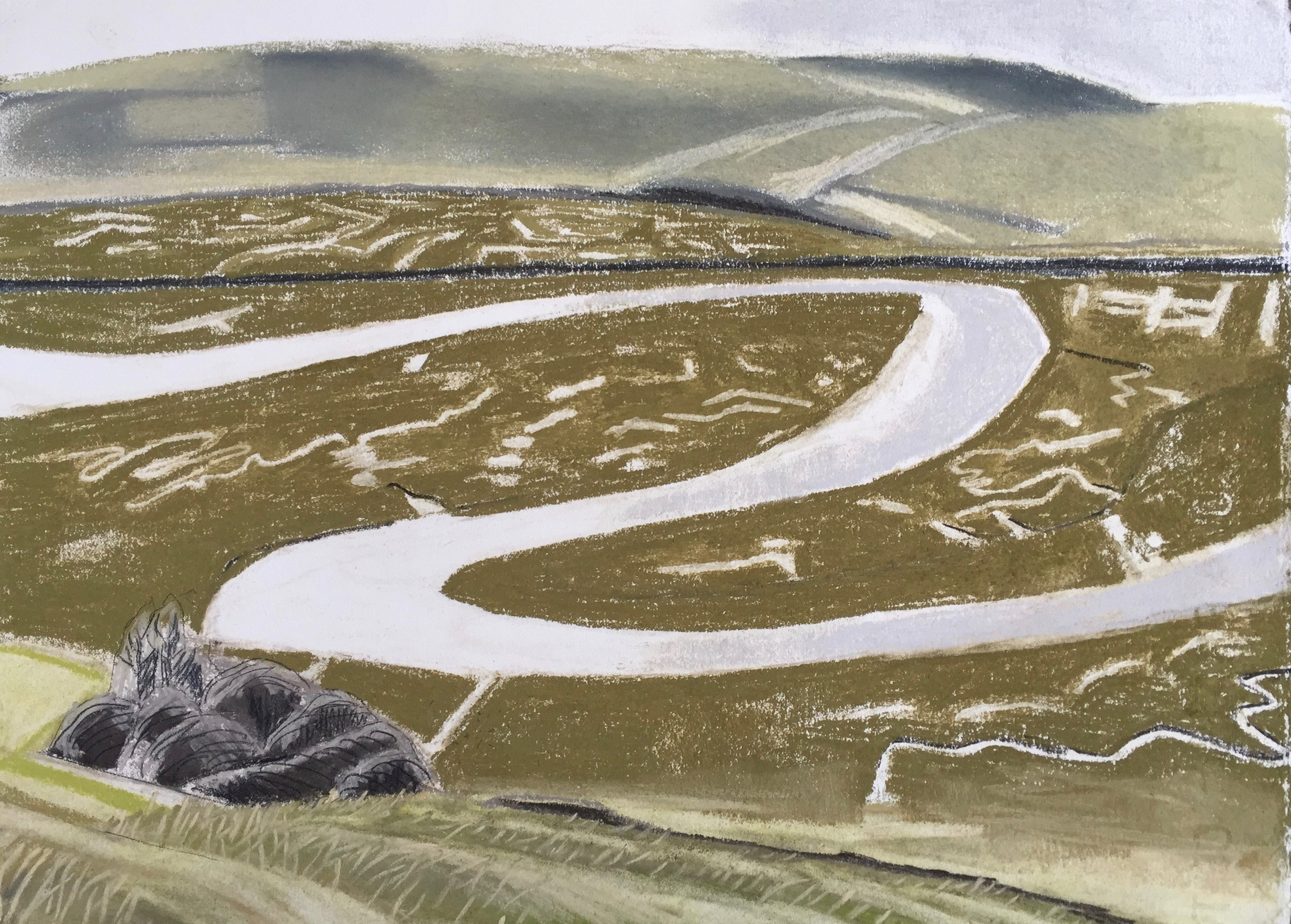 Cuckmere Bends, March 2018