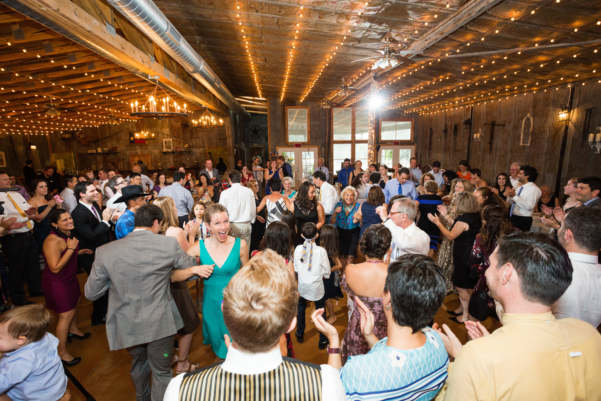 Carriage Hills Ranch - Texas Hill Country Venue - Dancing in reception space