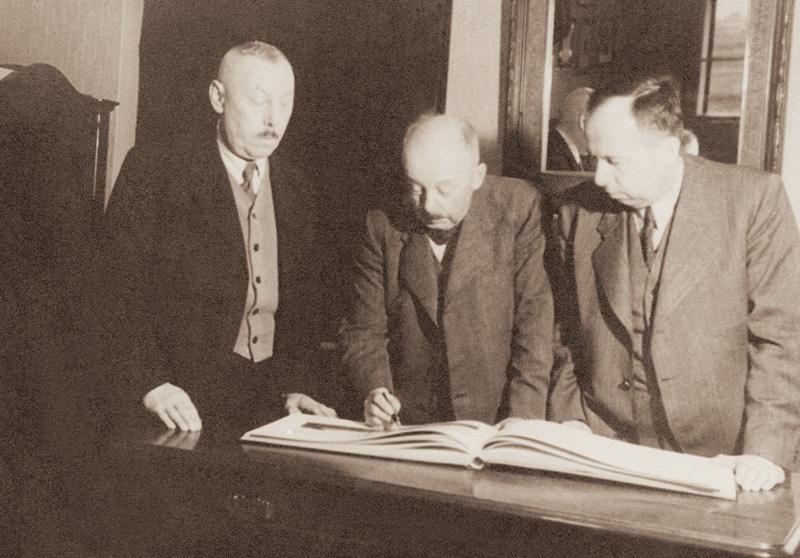 Jan, Antonín and Vladimír Petrof