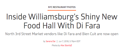 Inside Williamsburg's Shiny Food hall with Di Fara