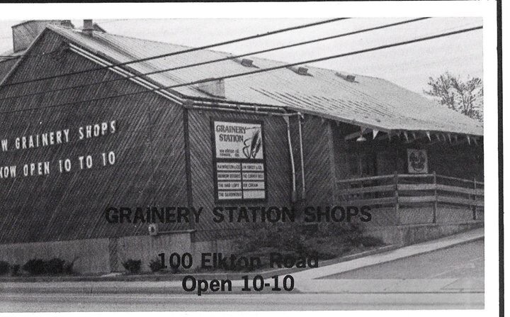 Rainbow Records at Grainery Station 1979