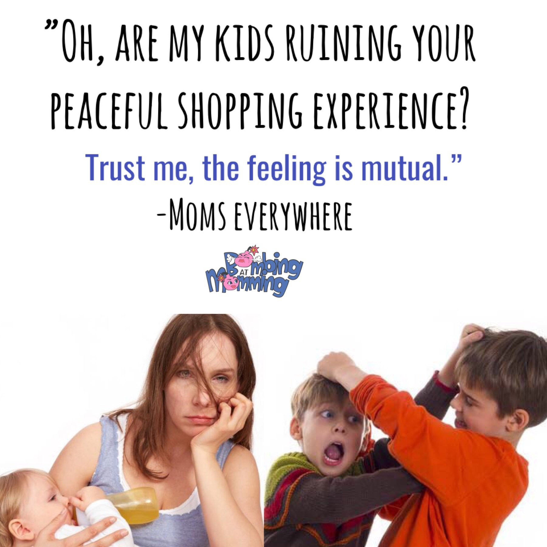 PARENTING MEMES-- Bombing At Momming