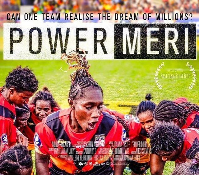 A documentary taking a look at how athletes are fighting to change the fate of women and girls in PNG by challenging stereotypes and highlighting the strength and innate worth of women.  Posted @withrepost • @bai.mi.kisim * 'Power Meri follows Papua New Guinea's first national women's rugby league team, the PNG Orchids, on their journey to the 2017 World Cup in Australia. These trailblazers must beat not only the sporting competition, but also intense sexism, a lack of funding, and national prejudice to reach their biggest stage yet.  Proud, strong and hopeful, the pioneering women in the PNG Orchids team have overcome more challenges than most to play their much-loved national sport. But after years at grassroots level, they have just three months to transform themselves into a competitive national team.  Power Meri takes audiences on a journey through rarely-seen corners of PNG and behind the scenes of women's sport. It follows the Orchids through selection trials, arduous training and diverse personal struggles as they face the world champion Australian Jillaroos and compete at the world cup in Sydney.  But their mission is greater than winning. In a country with appalling rates of domestic violence, sport is one of the few arenas in which PNG women can show their strength. If they can perform like men on the rugby field, can they change attitudes about the treatment and status of women back home?' To find out more about the film, alternative screenings or request one at your local cinema, go to #linkinbio . . . #powermeri #power #pawa #women #girlsrule #melanesians @powermerifilm #png #papuanewguinea #rugby #athletes #powerwomen #womenspower #womeninsport #womeninrugby #pngorchids #jillaroo #genderstereotypes #endviolenceagainstwomen #evaw #pngwomen #globalhealth #womenaroundtheworld #neverthelessshepersisted #thisgirlcan #becauseofher