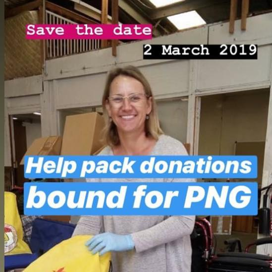We need all hands on deck 🤗 Footscray 2 March come help us pack our donations for shipping to PNG 🚢 🇵🇬 Hope to see you there! #ilovemelbourne #melbournenotforprofit #nfp #notforprofit #australiannotforprofit #australiannfp #papuanewguinea🇵🇬 #papuanewguinea #png #melbournecharity #footscray #give #donate #volunteer #melbourne #globalhealth #maternalheath #infanthealth
