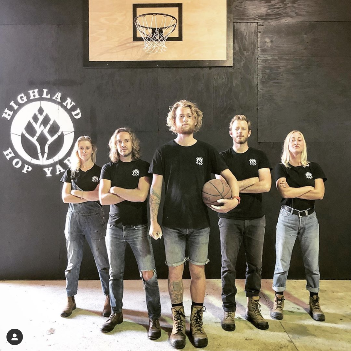 Left to Right: Margaret Curtis, Steve Ormsby, Sean Willcock, Will Dempster & Elise Ekvall C. 2019