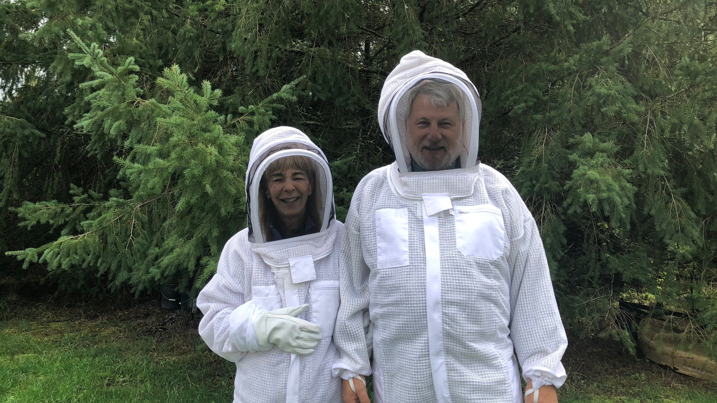 Beekeeping - When we discovered that honeybees are in danger of becoming extinct - around the world - we decided to become beekeepers. Living on a farm where our main purpose is to help heal the planet, we realize that beekeeping is essential. We are beekeeping because as we learn these very important skills, our goal is to pass that on to other people.