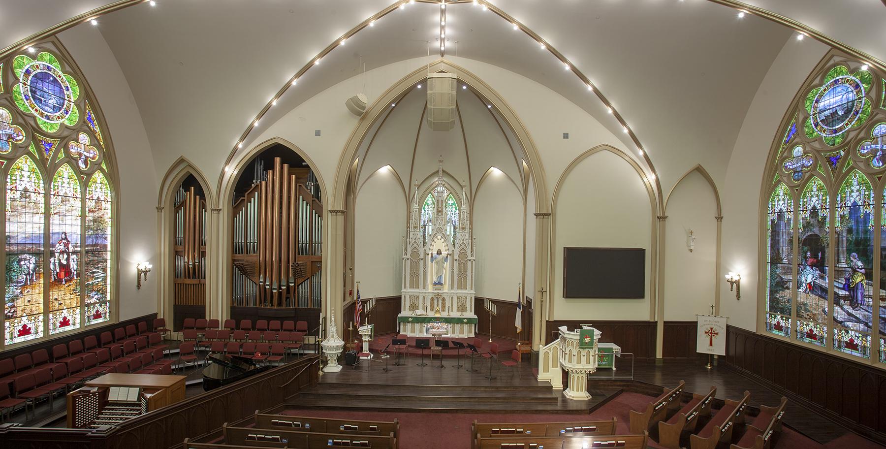 ST JOHN'S LUTHERAN CHURCH of ORANGE -