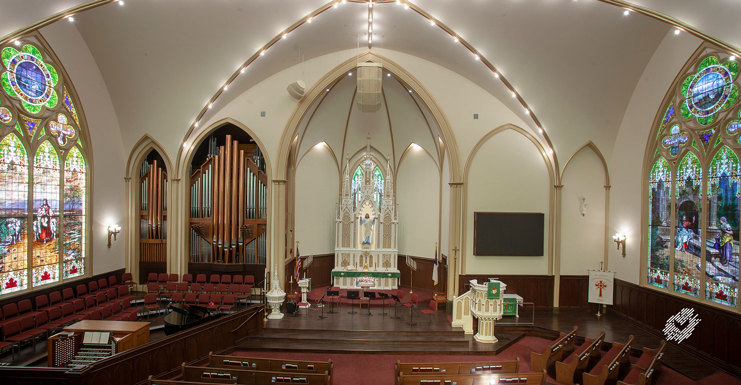ST JOHN'S LUTHERAN CHURCH of ORANGE