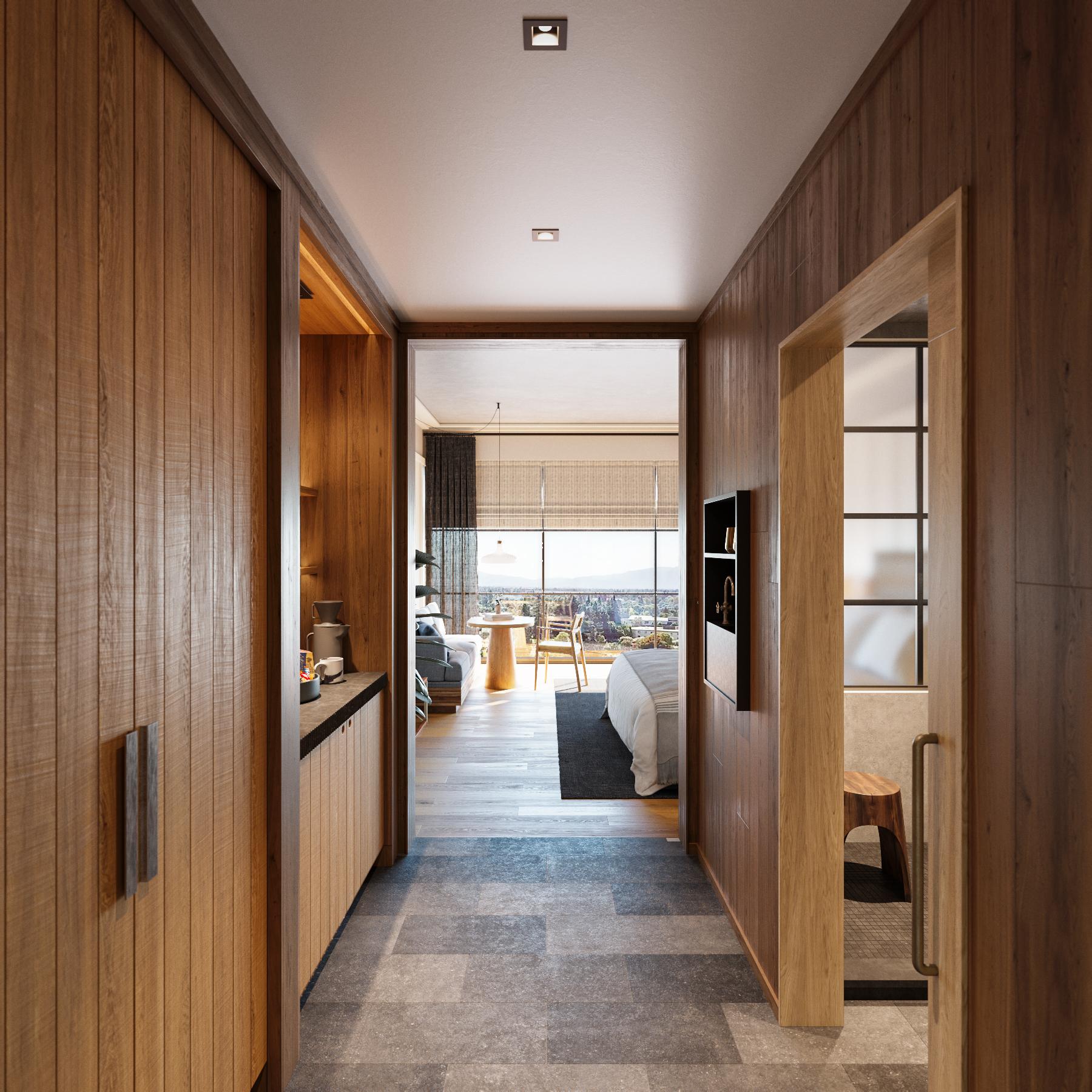 Suite 2 Hallway