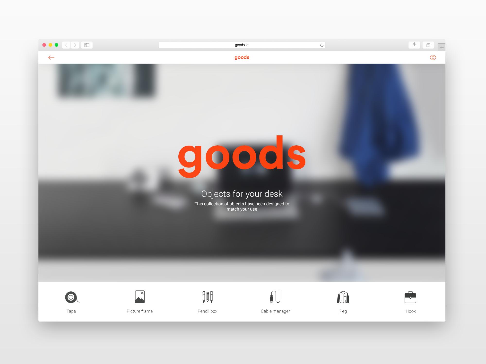Design d'interface pour un service d'impression 3D online