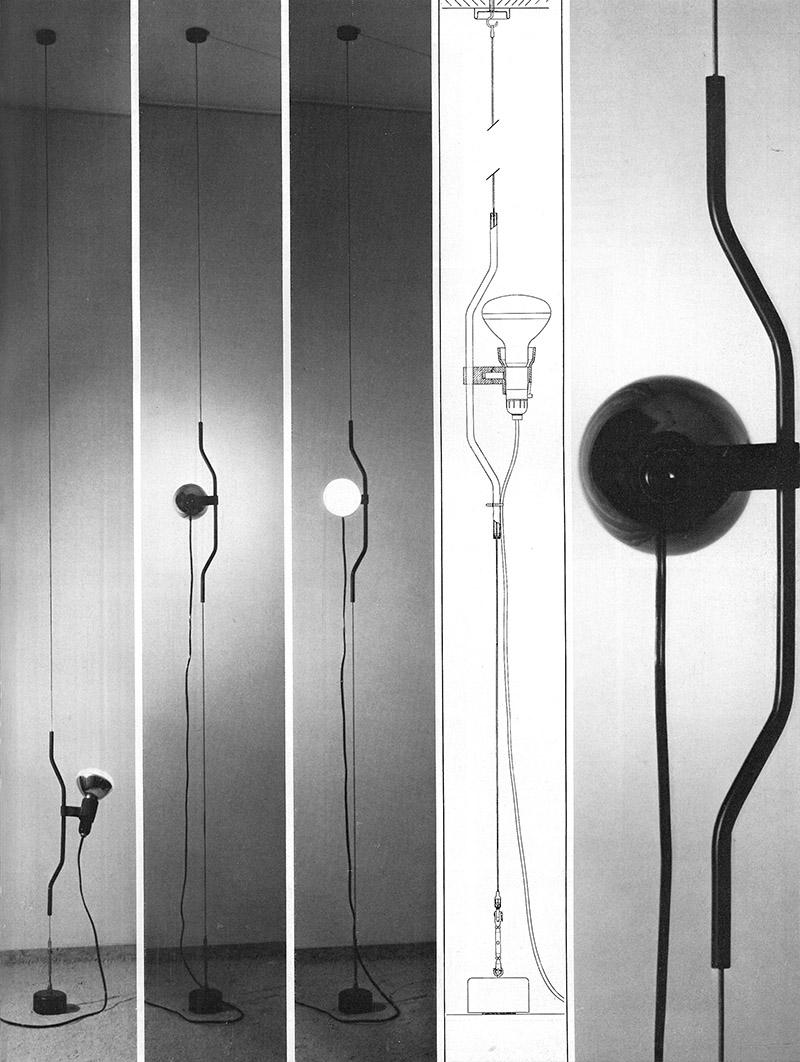 Parentesi   Achille Castiglioni for Flos - 1971.