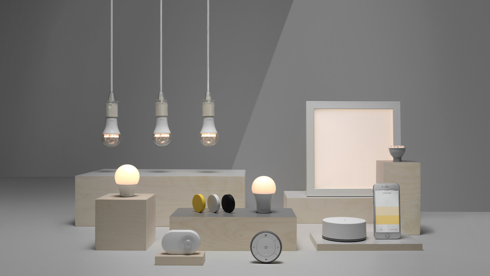 Trådfri lighting range, Connected light bulbs   Ikea - 2017