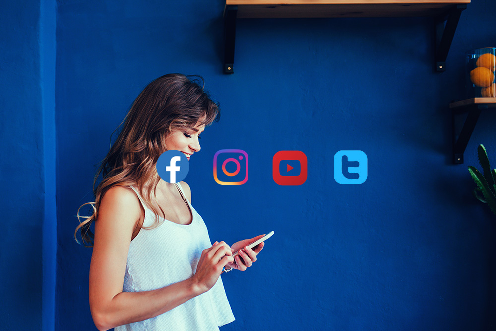 Share across platforms. - Easily share YouTube videos, tweets, Instagram posts, Facebook posts, links and more. YouTube views are counted!#amazing