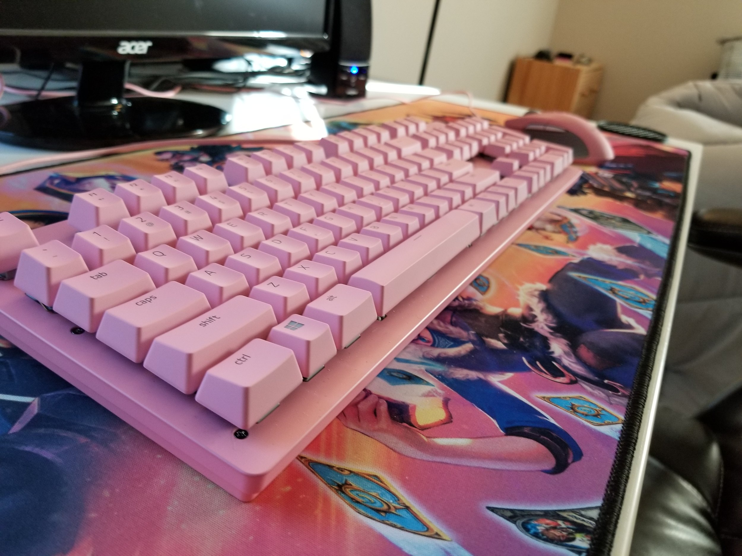 Unusually Pink