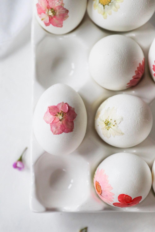 Naturally Dyed Easter Eggs Grain Artisan Bakery
