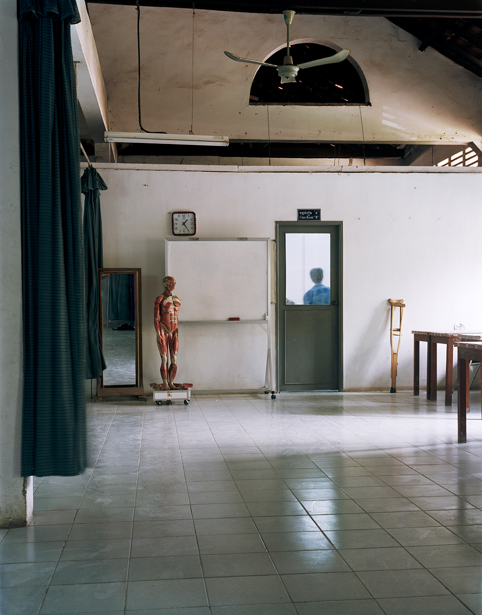 Crutches , Cambodian School for Prosthetics and Orthotics, Phnom Penh, Cambodia