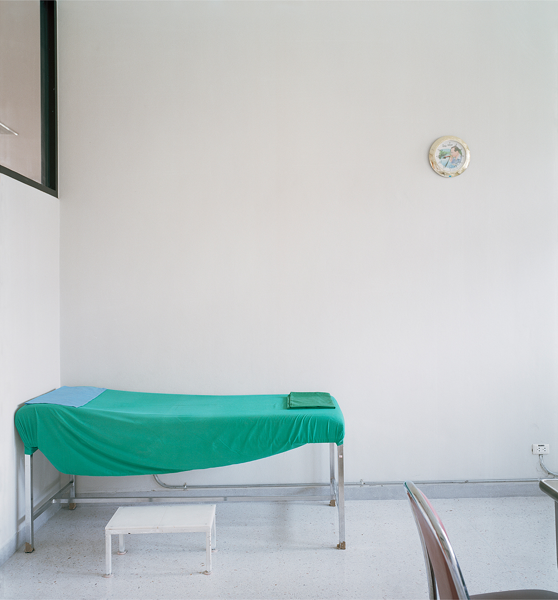 Bed , The Prosthesis Foundation of HRH The Princess Mother, Chiang Mai, Thailand