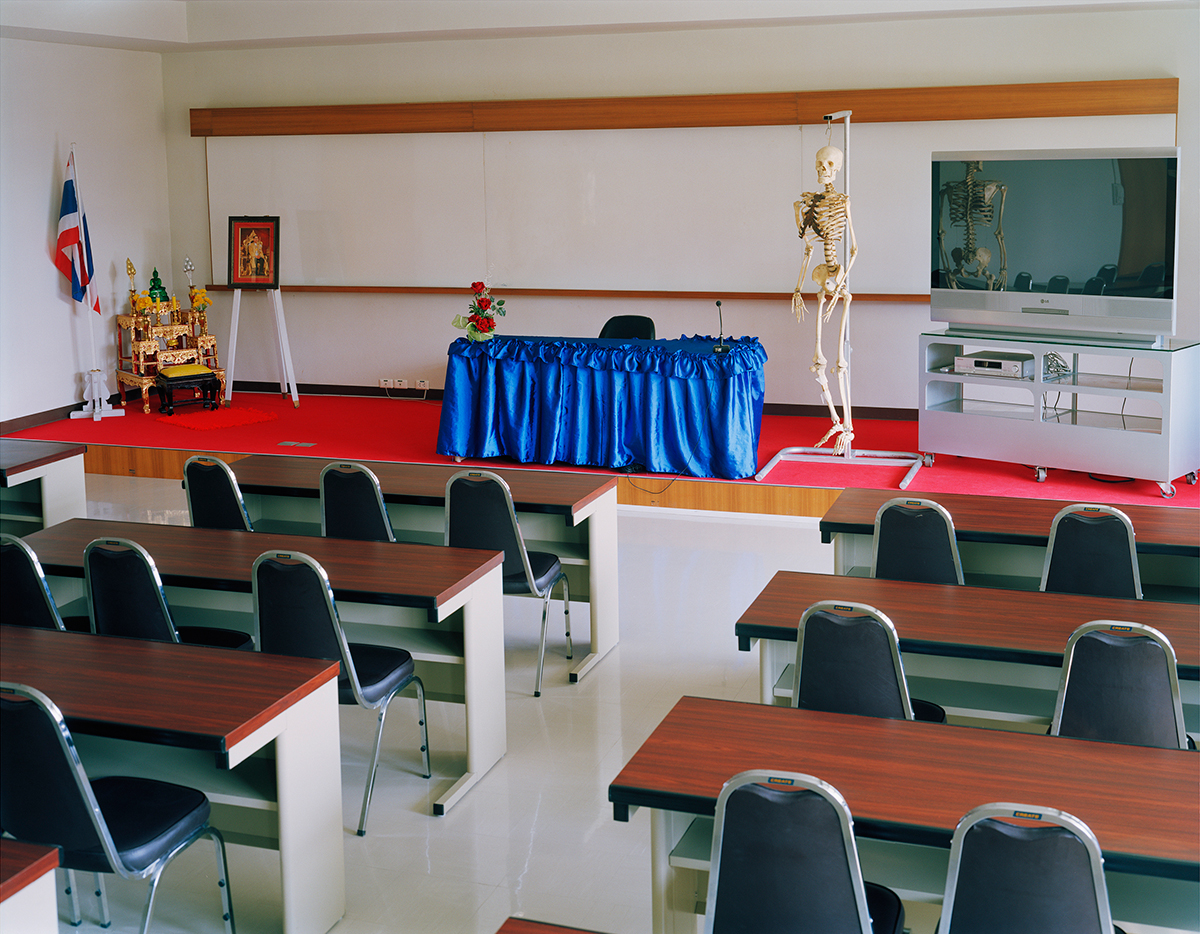 Classroom , The Prosthesis Foundation of HRH The Princess Mother, Chiang Mai, Thailand