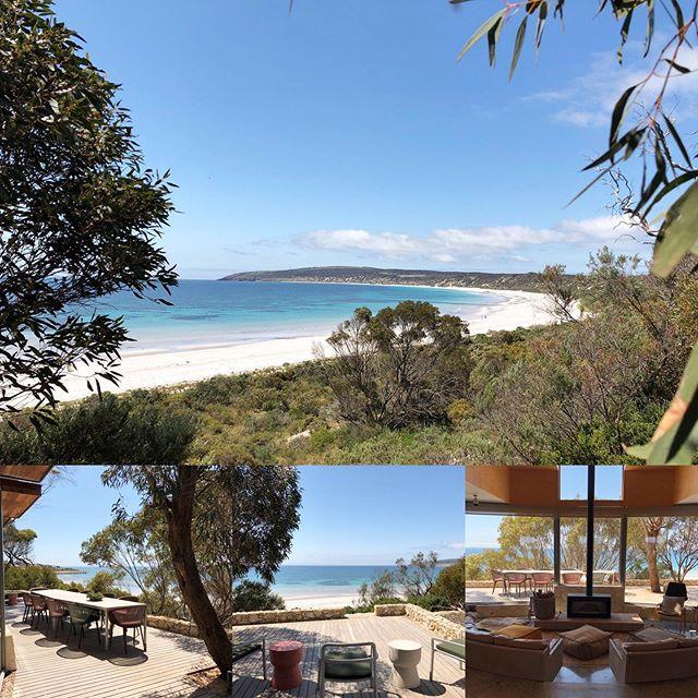    DUNE    What a day to welcome some special guests.  #emubay #kangarooisland #beachfront #luxury #accomodation #southauatralia #authentickangarooisland