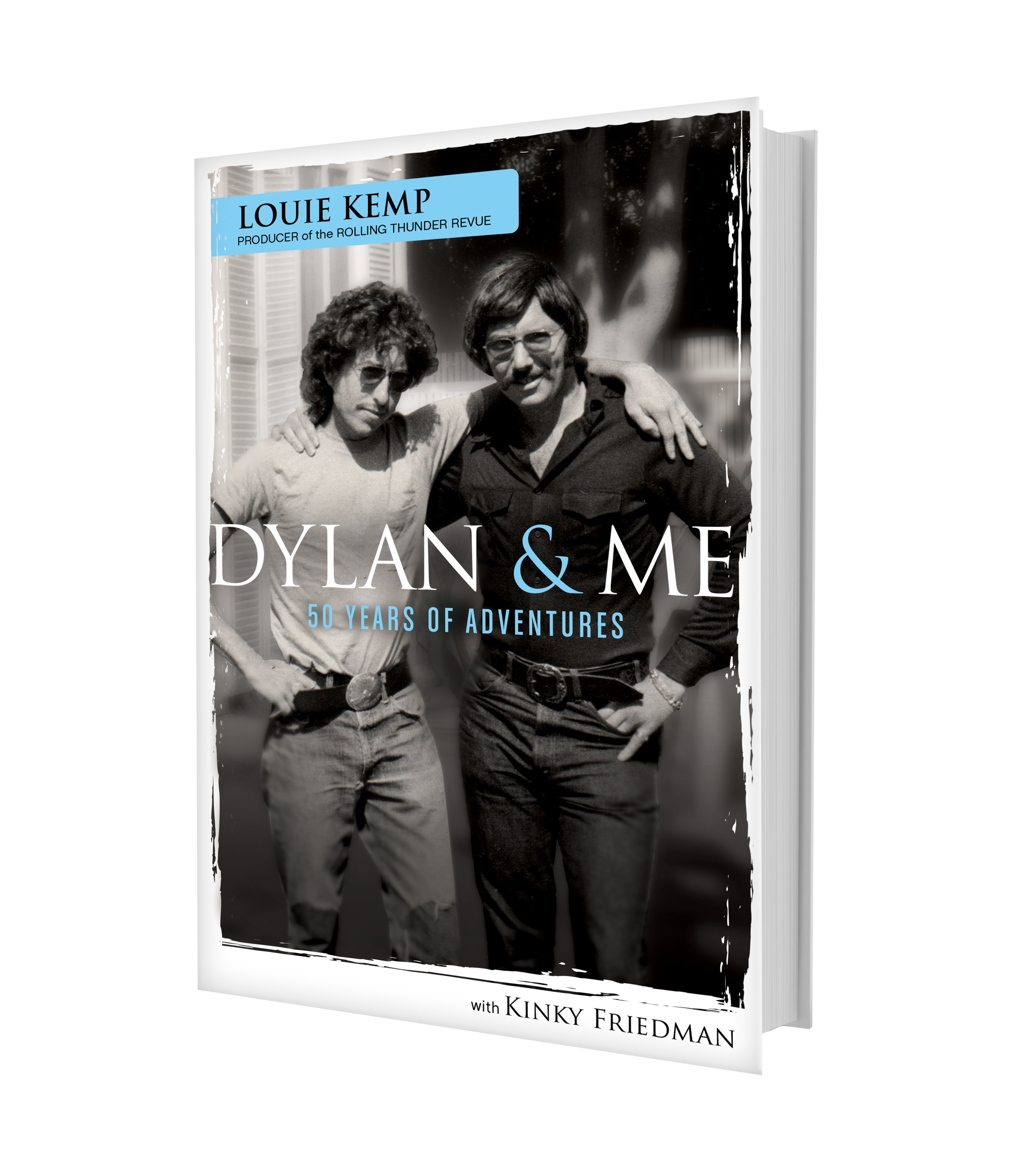 "Dylan & Me - 50 Years of AdventuresAvailable to order NOW!buy an autographed copy from louie directly on the website and receive a code for a free ""bundle"" download — a rolling thunder revue memorabilia poster and a custom painting of bob dylan.book orders will be shipped in mid-August 2019."