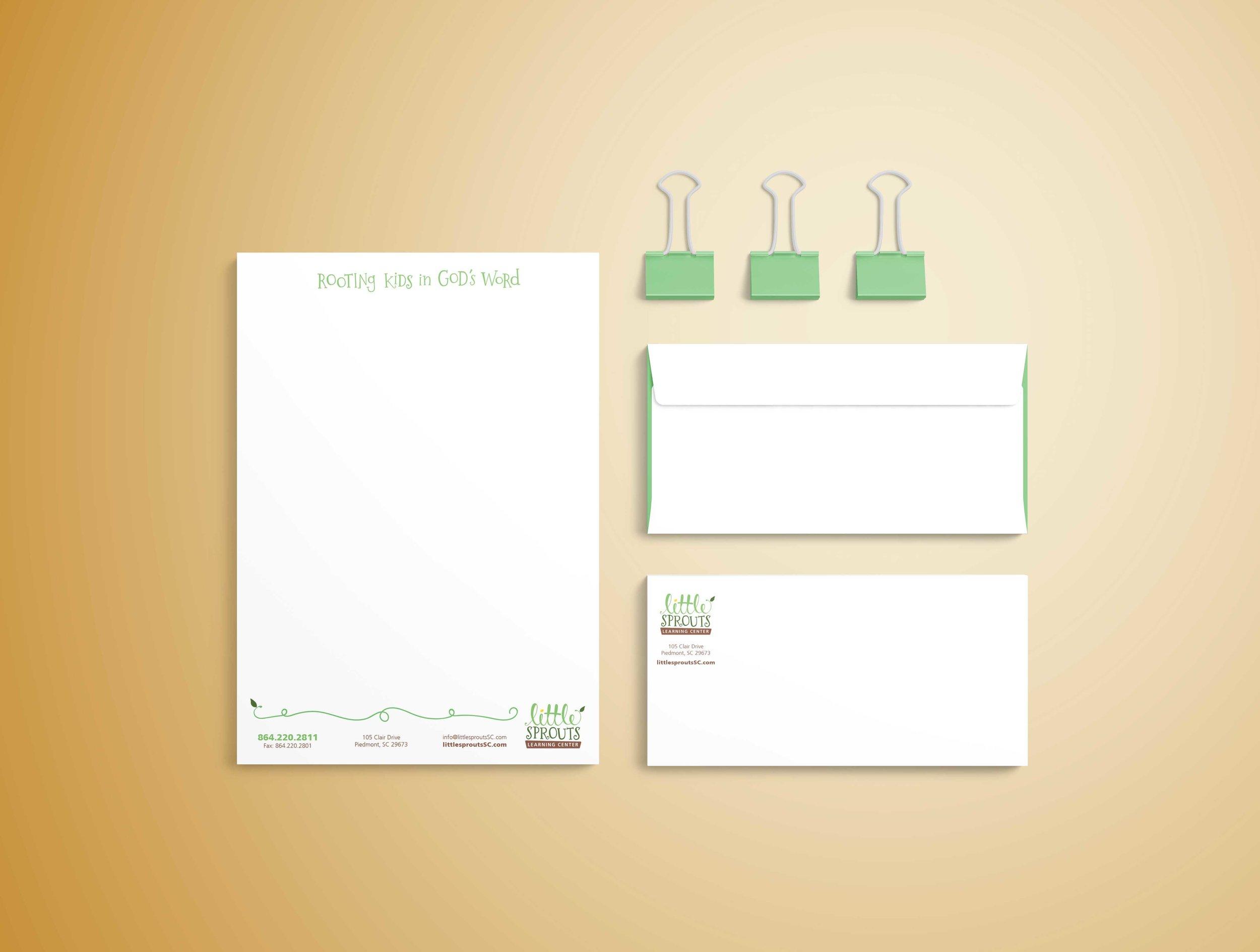 branding logo letterhead business card design