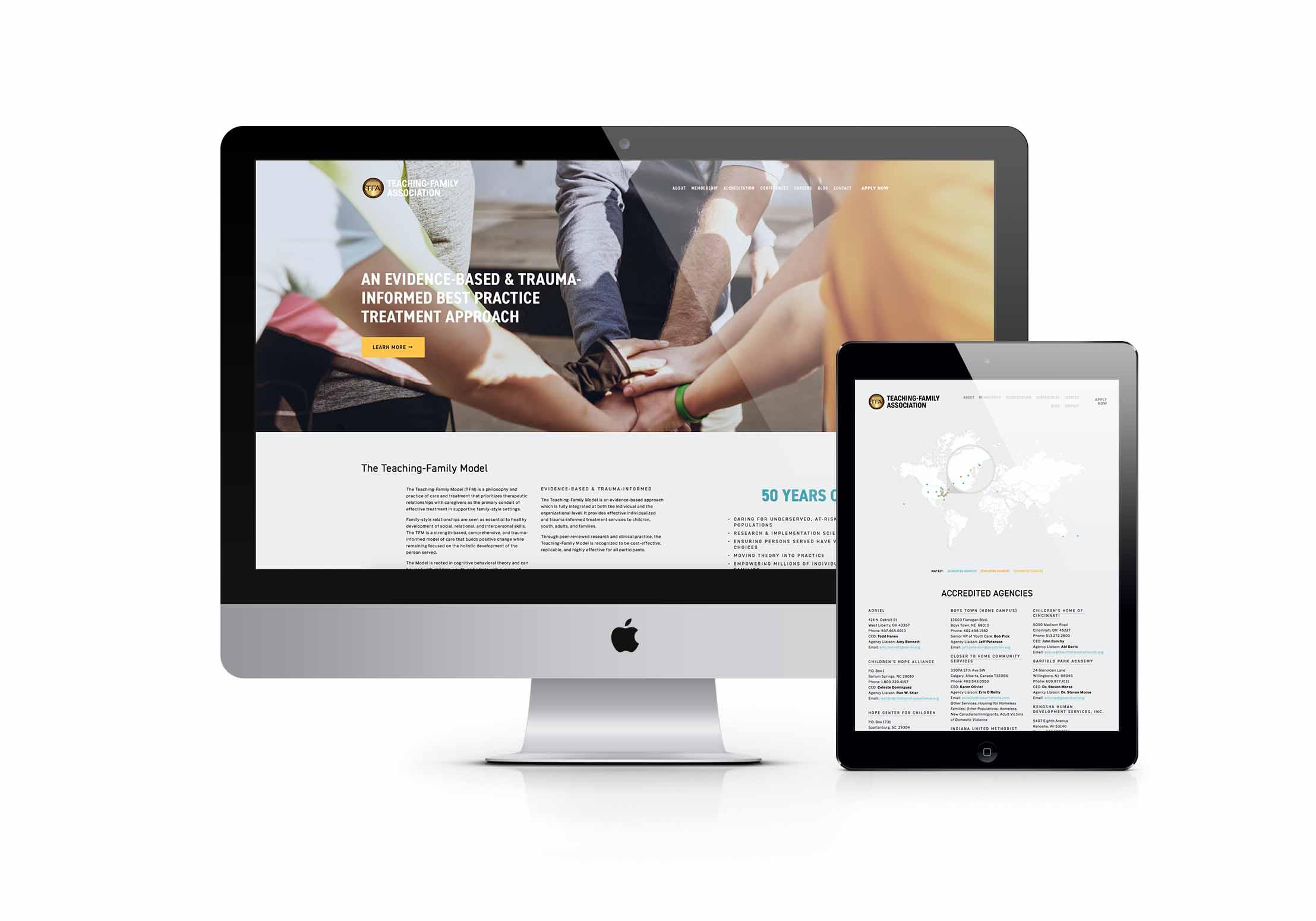 TF Website design members