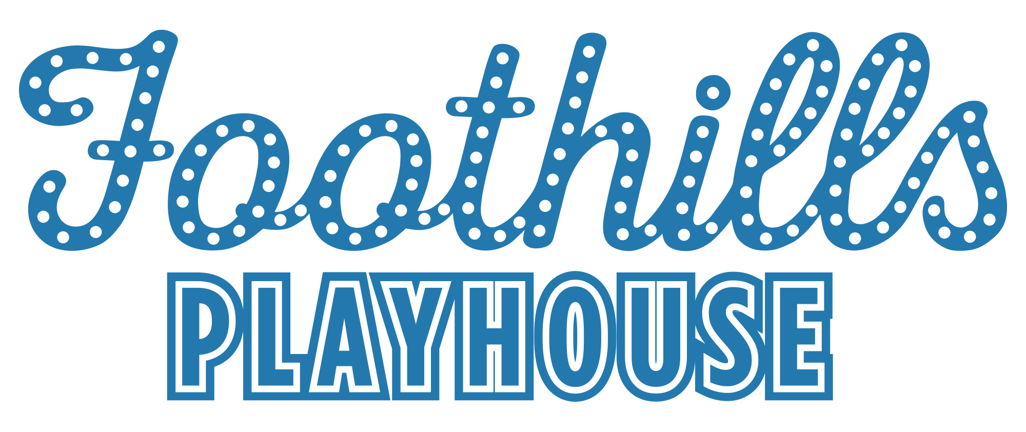 Foothills Playhouse Logo Text One Color A.png