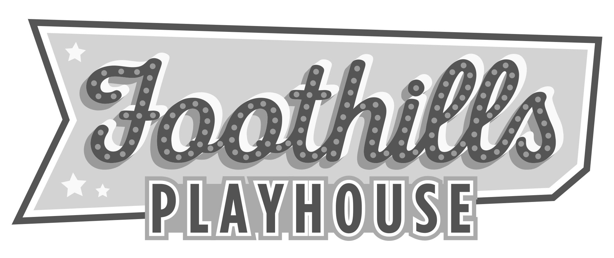 Foothills Playhouse Logo Gray.png