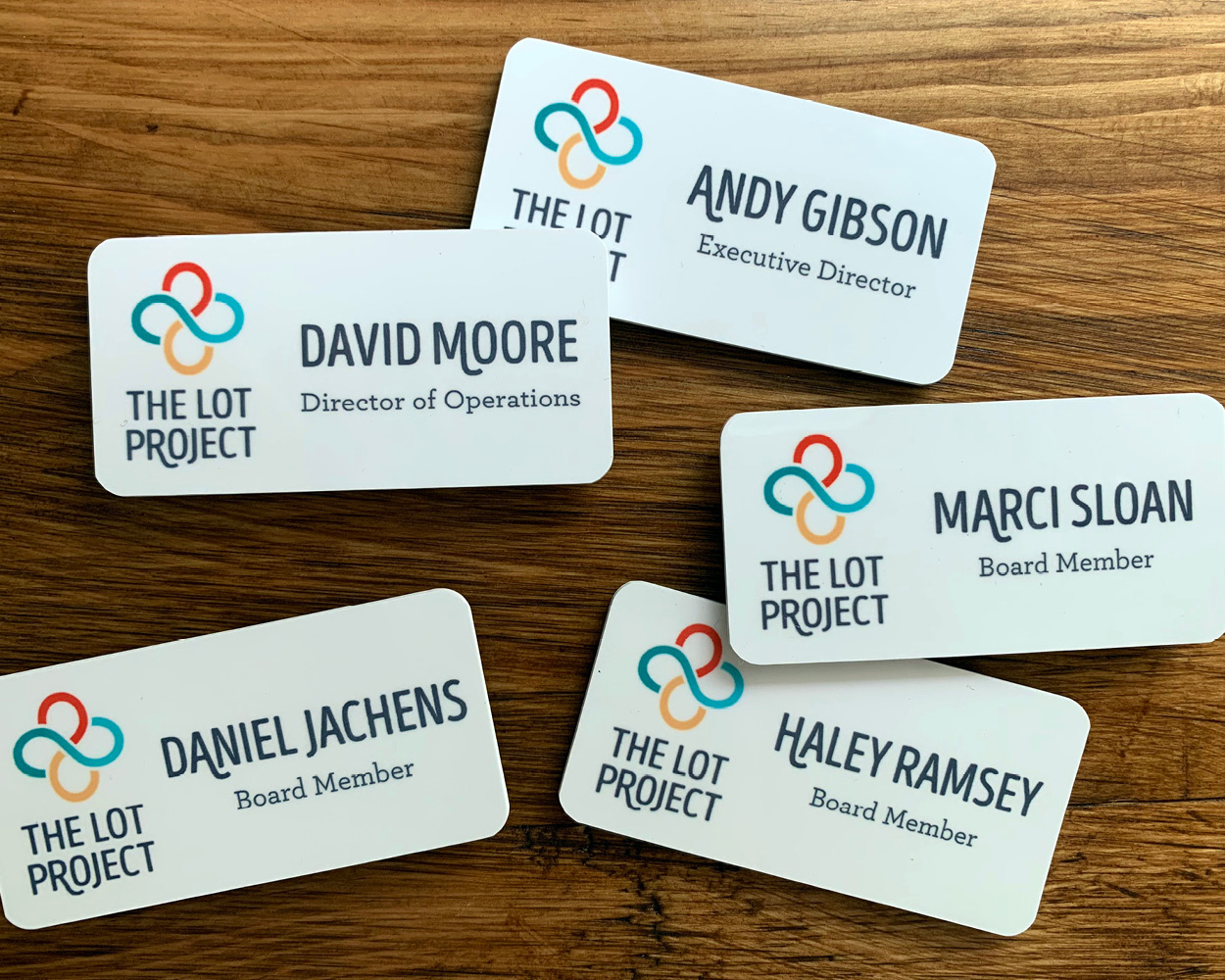 Lot Project Name Tags