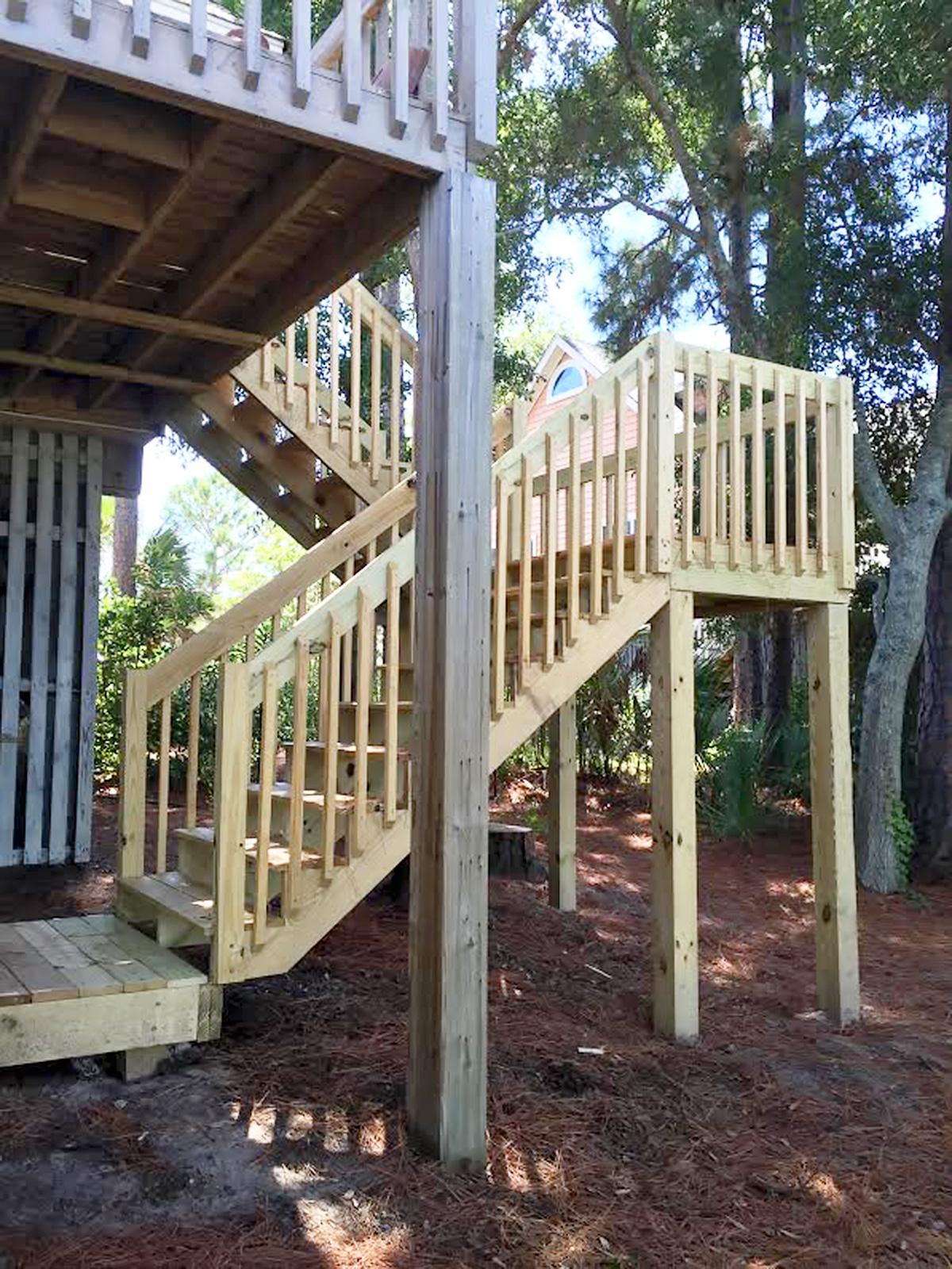 Staircase - Folly Beach, South Carolina