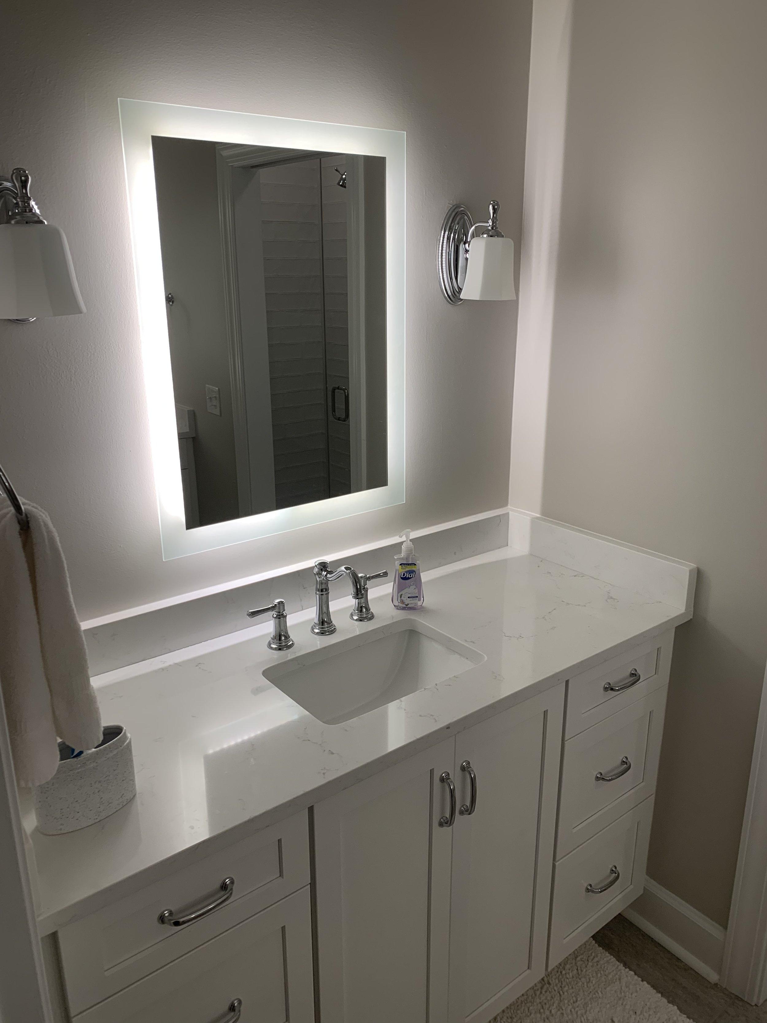 Backlit Mirrors-Mt. Pleasant, South Carolina