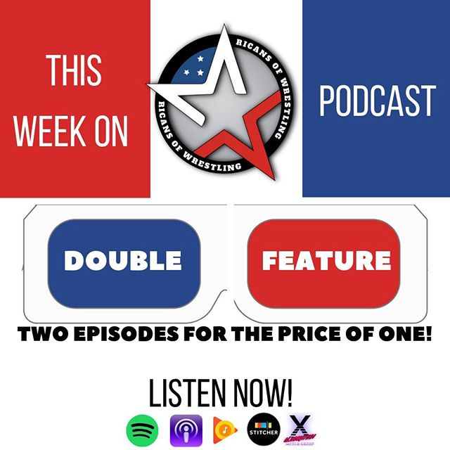 Guess who's back with not one, but TWO new episodes? Make sure to give them a listen & catch up on what you've been missing TODAY!  #RicansOfWrestling is NOW STREAMING ON iTunes, Spotify, Google Play, Stitcher & on our website! . . #Algorhythm #SolveForX #wrestling #prowrestling #sports #sportsentertainment #podcast #podcasters #wwe #aew #njpw #roh #evolve #wwn #raw #smackdown #nxt #interviews #previews #predictions #reviews #WWEroundup