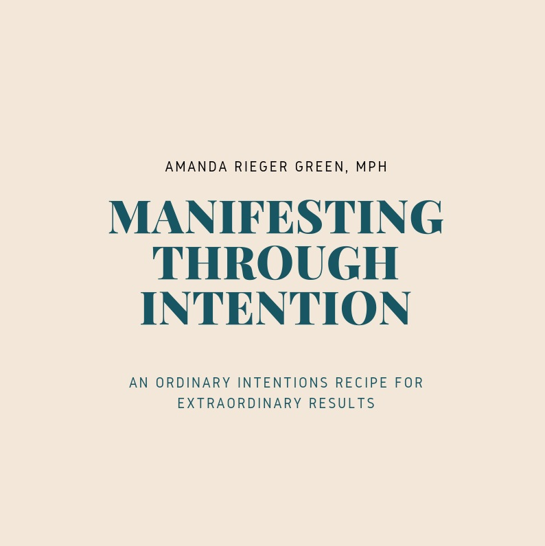 Manifesting Through Intention - Want to learn how to set an intention to help with manifestation? Download the first part here to get started!