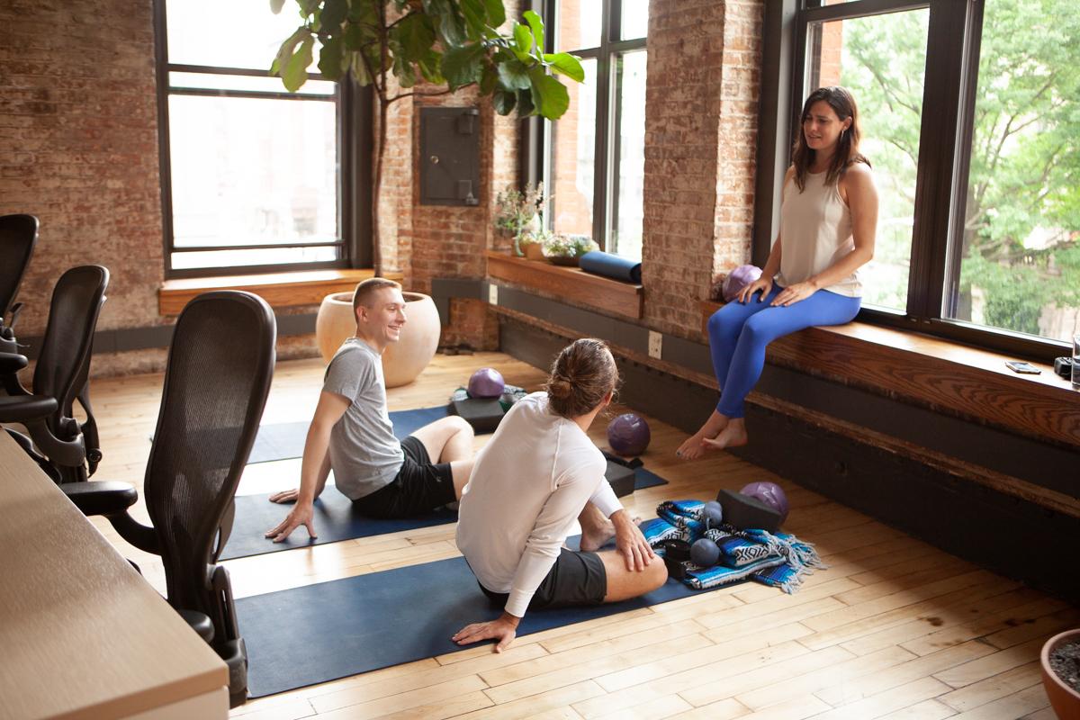 Yoga & wellness -