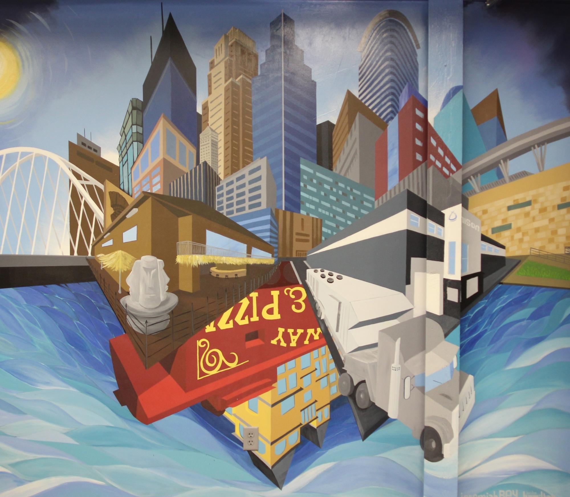 Unison mural