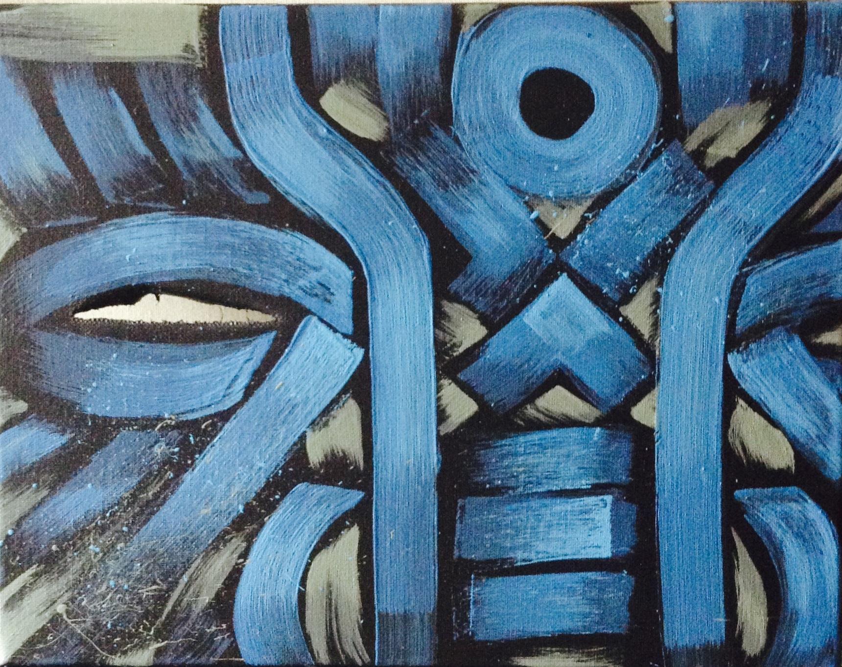 Acrylic on canvas, 2015