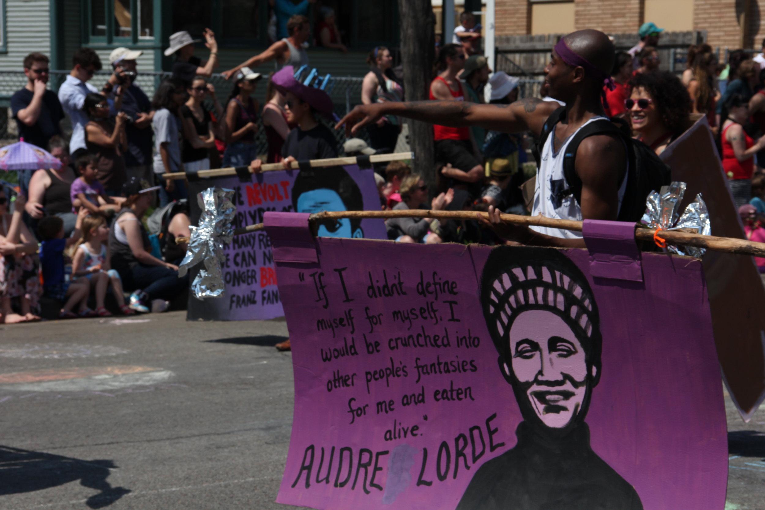 Black is Sacred, MayDay Parade, 2015