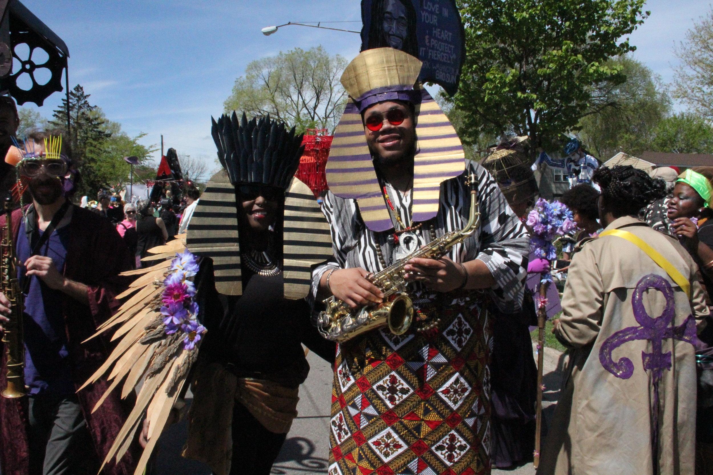 Adja & Myke, Wild Seed, MayDay parade 2016