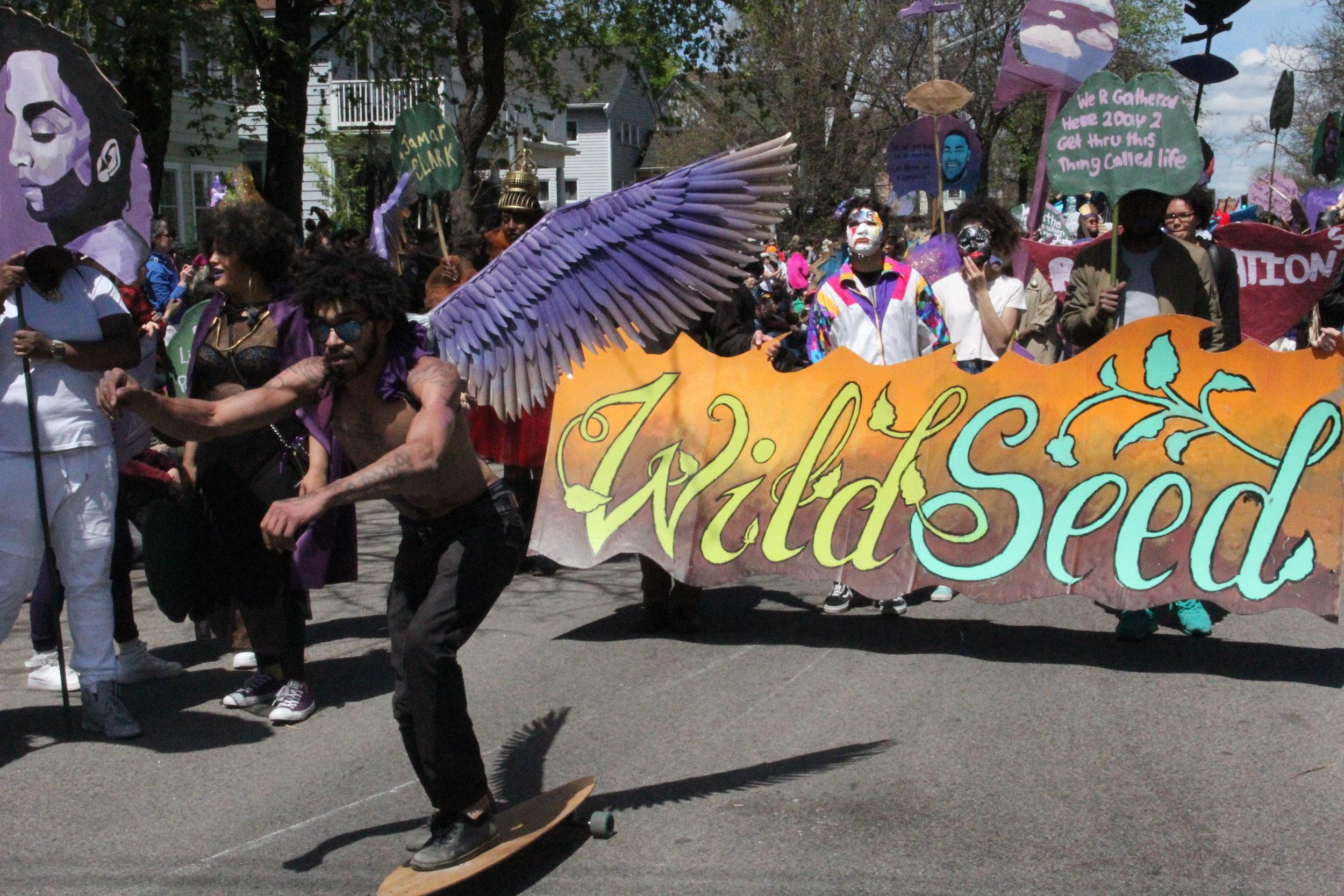 Wild Seed, MayDay parade 2016
