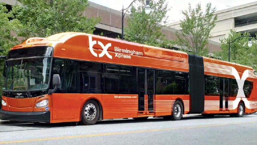 Birmingham Xpress: Bus Rapid Transit Expected by World Games 2021