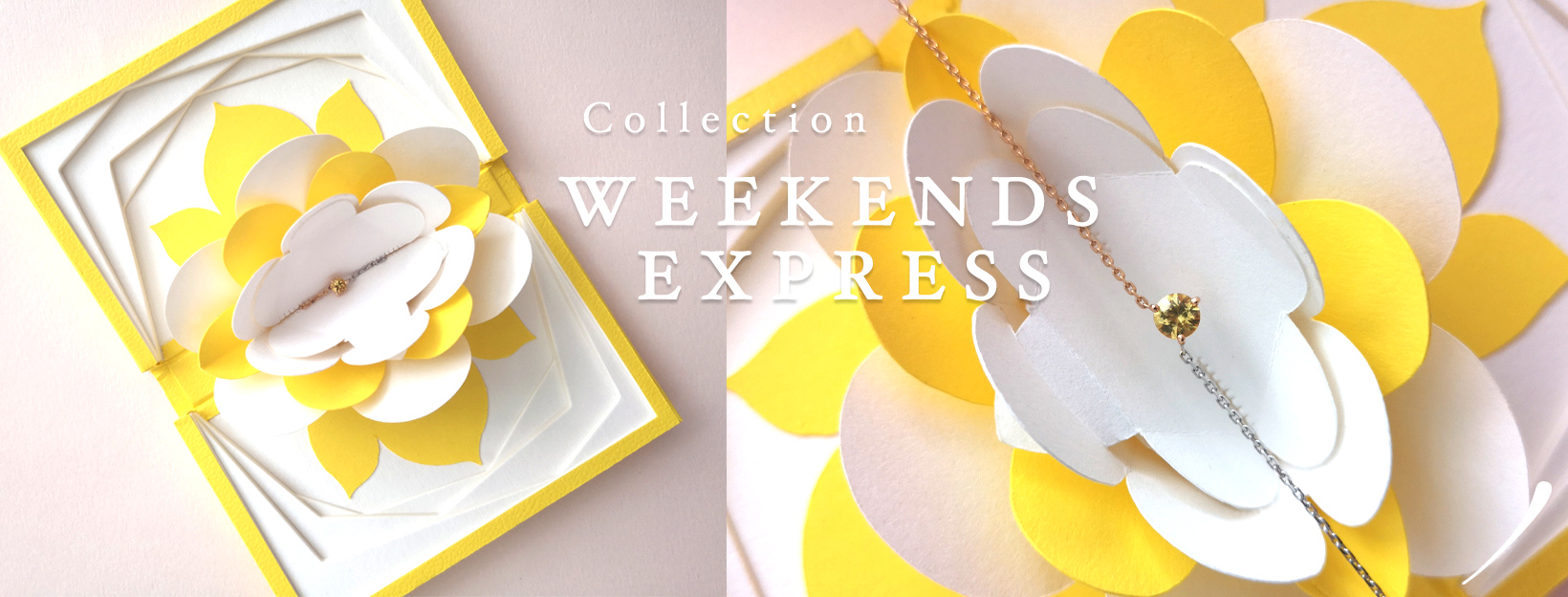 Collection Weekends Express, Courpré Joaillerie - The Explorative Fine Jewelry / Joaillerie Française et Fairmined