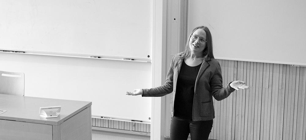 Sofia Jonsson som föreläsare
