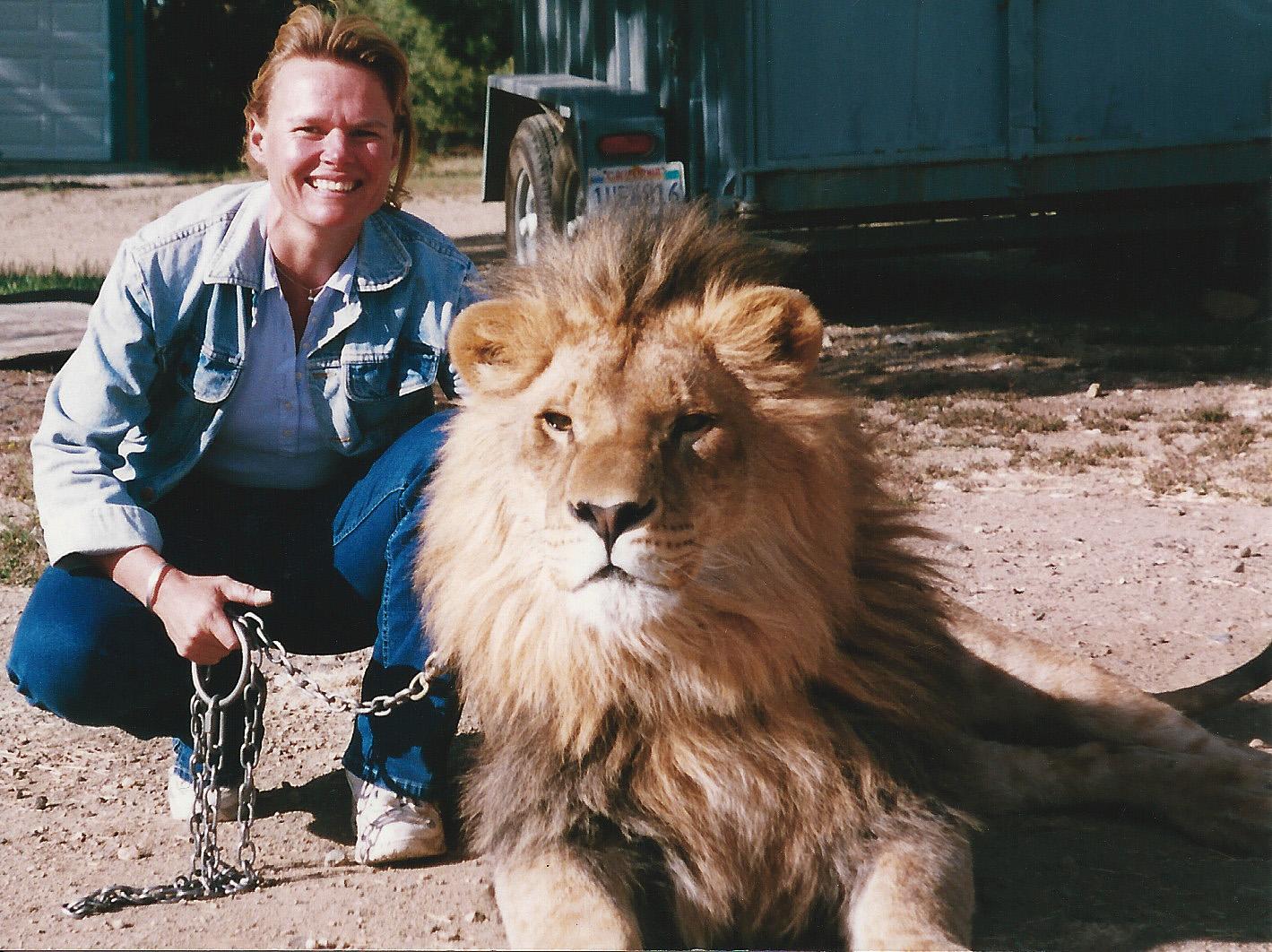 Kirsko Film Animals Kirstin Feddersen and African Lion 1419x1062px.jpg