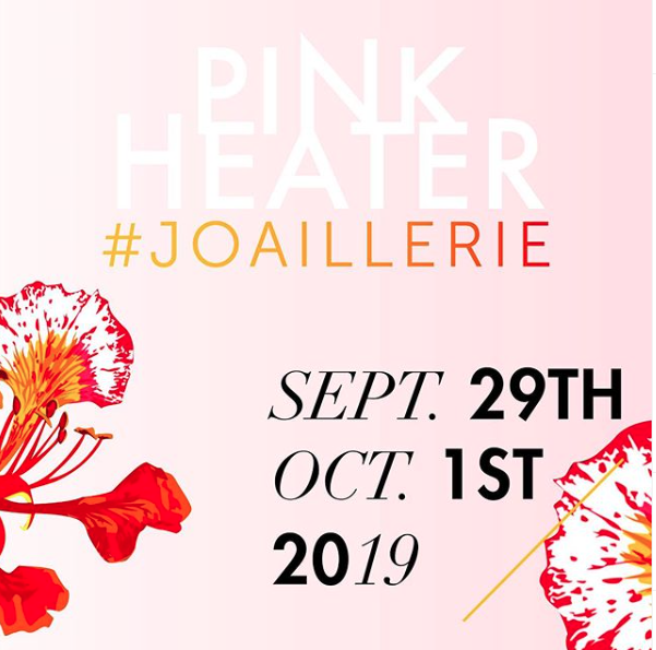 Christina Soubli, Ele Karela, Myrto Anastasopoulou,Pari Sofianou invite you to the Pink Heater Showroom, Sept. 29th to Oct.1st 2019 -