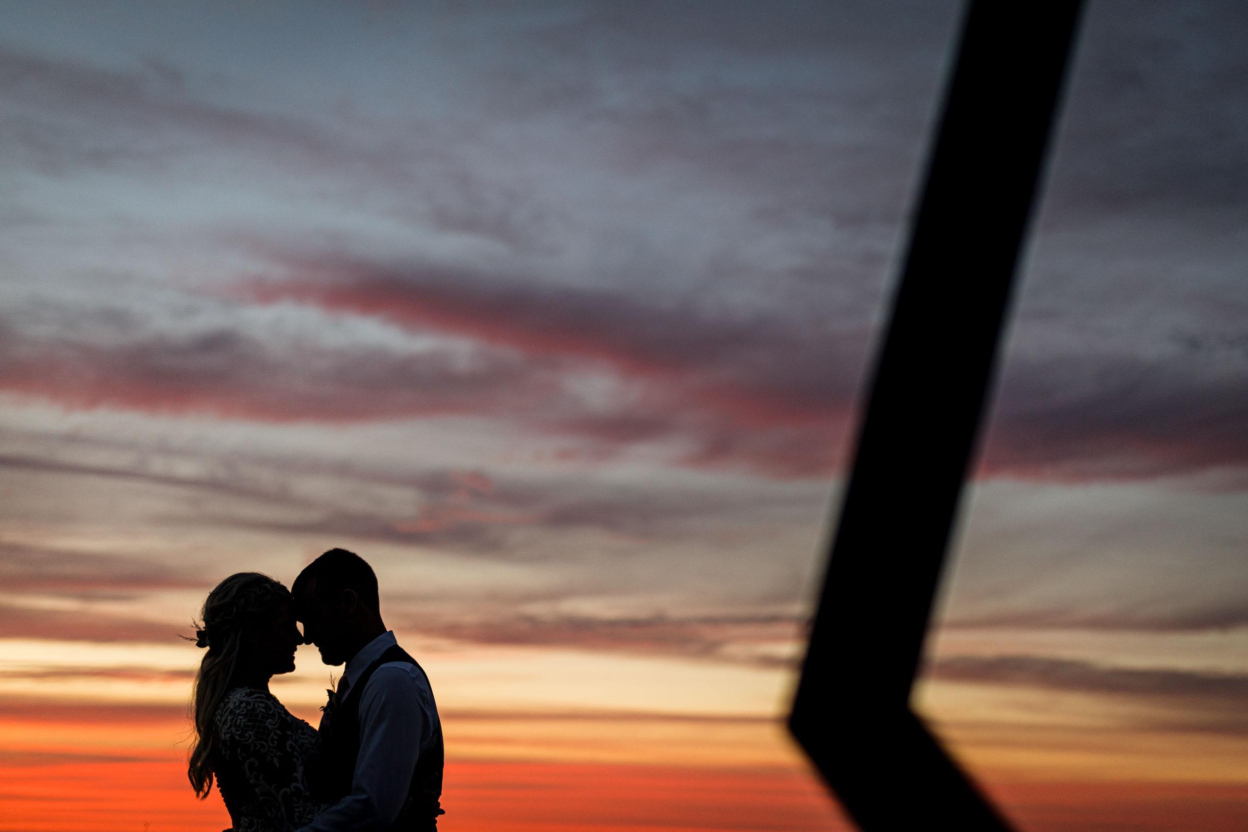 Sunset Wedding Photography on the Ocean