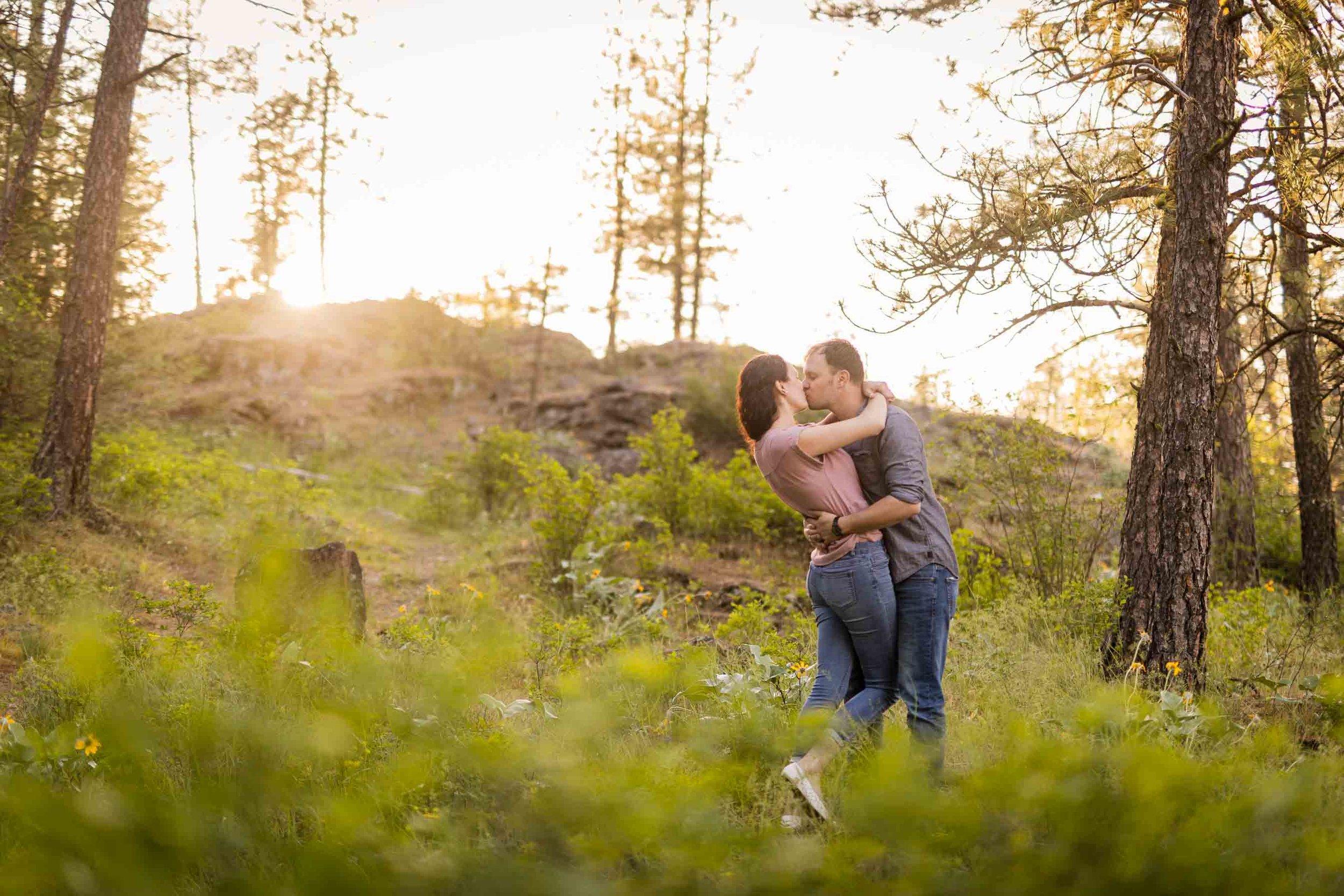 Engagement Photography in Spokane, WA