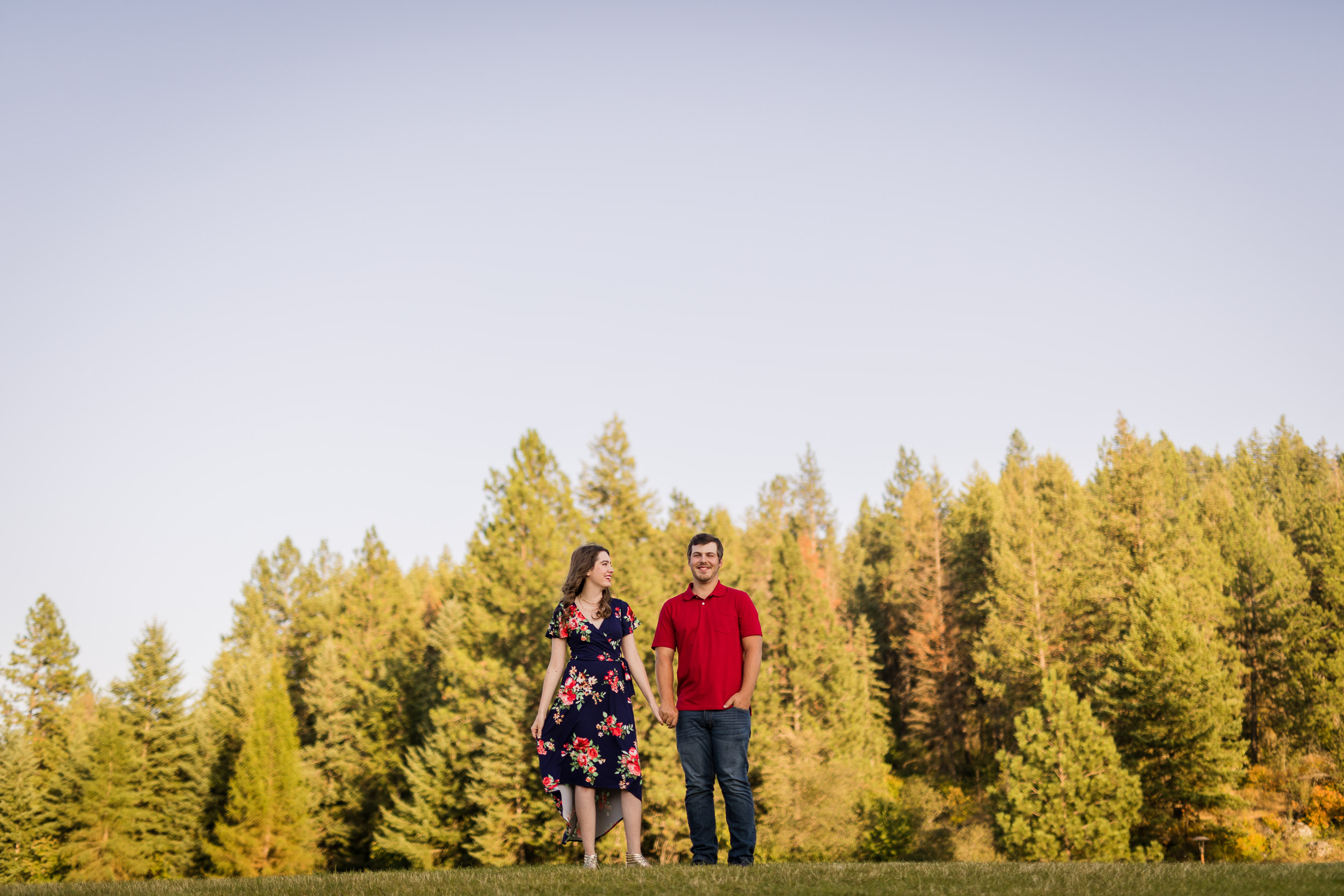 Coeur d'Alene Engagement Photographer
