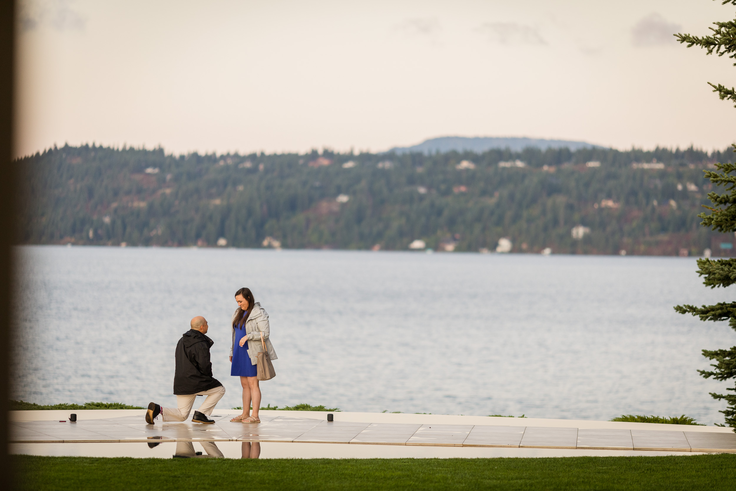 Engagement on Coeur d'Alene Lake