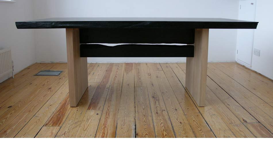 Bog Oak and Maple Desk